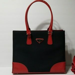 Red/black bag